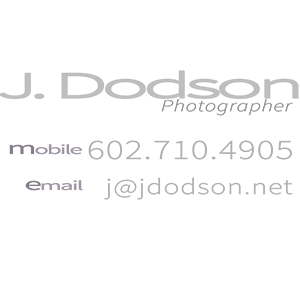 Photography by J. Dodson
